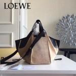 LOEWE 024-01 潮流時尚新款Hammock Bag系列進口西班牙原版皮手提單肩包