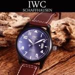 IWC-080-4 新款男士馬克十七小王子限量版IW326506真牛皮錶帶全自動機械腕錶