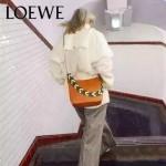 LOEWE 016-01 專櫃時尚新款Bucket bag系列頂級進口原版柔軟小牛皮單肩包