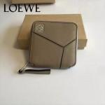 LOEWE 017-02 專櫃時尚新款puzzle系列原版牛皮裏外全皮爆款錢包零錢包