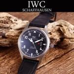 IWC-080-2 新款男士馬克十七小王子限量版IW326506真牛皮錶帶全自動機械腕錶