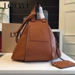 LOEWE 028-02 潮流時尚新款進口西班牙原版牛皮Hammock Bag情侶款包包