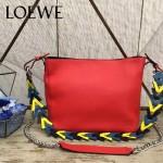 LOEWE 016 專櫃時尚新款Bucket bag系列頂級進口原版柔軟小牛皮單肩包