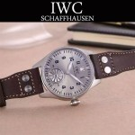 IWC-083-11 潮流新款兩針半系列316精鋼錶殼手動上鏈機械腕錶