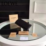 LOEWE 014-01 專櫃時尚新款進口原版皮牛皮裏外全皮翻蓋式錢包
