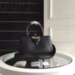 LOEWE 015-02 專櫃時尚新款頂級進口原版Napa牛皮Barcelona系列限量版大三角包