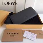 LOEWE 022 專櫃時尚新款頂級進口原版牛皮男士錢包