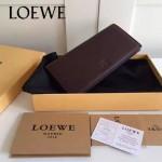 LOEWE 022-01 專櫃時尚新款頂級進口原版牛皮男士錢包