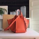 LOEWE 024-06 潮流時尚新款Hammock Bag系列進口西班牙原版皮手提單肩包