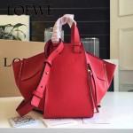 LOEWE 024-09 潮流時尚新款Hammock Bag系列進口西班牙原版皮手提單肩包