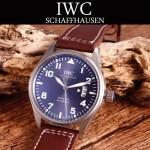 IWC-080-3 新款男士馬克十七小王子限量版IW326506真牛皮錶帶全自動機械腕錶