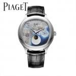 Piaget-025-3 商務男士綺幻之旅Emperador Coussin XL歐亞版圖瑞士石英腕錶