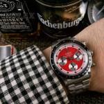 ROLEX-063-5 明星余文樂同款保羅諾曼迪通拿紀念版日本多功能石英腕錶