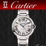 CARTIER-310 時尚經典藍氣球系列把頭鑲嵌天然藍寶石可搭配9015/2892自動機械腕錶