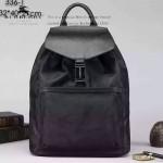 BURBERRY-0213 專櫃時尚新款原單尼龍布配牛皮雙肩包書包