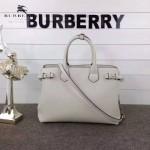 Burberry-0229 潮流時尚新款原單手掌紋進口牛皮配布手提斜背包