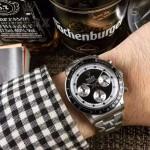 ROLEX-063-4 明星余文樂同款保羅諾曼迪通拿紀念版日本多功能石英腕錶