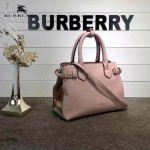 Burberry-0229-05 潮流時尚新款原單手掌紋進口牛皮配布手提斜背包