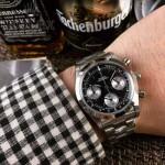 ROLEX-063-10 明星余文樂同款保羅諾曼迪通拿紀念版日本多功能石英腕錶