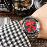ROLEX-063 明星余文樂同款保羅諾曼迪通拿紀念版日本多功能石英腕錶
