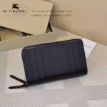 Lvaaa.tw-0205-02 專櫃時尚新款原版格子面料進口納帕牛皮雙拉鏈錢包