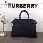 Burberry-0229-01 潮流時尚新款原單手掌紋進口牛皮配布手提斜背包
