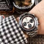 ROLEX-063-3 明星余文樂同款保羅諾曼迪通拿紀念版日本多功能石英腕錶
