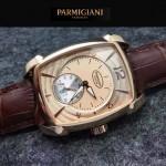 PARMIGIANI-011-2 商務男士土豪金配金底316精鋼錶殼全自動機械腕錶