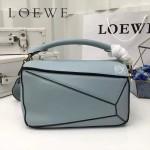 LOEWE 0160-02 專櫃時尚新款Puzzle Bag系列原版小牛皮手提單肩包
