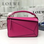 LOEWE 0160 專櫃時尚新款Puzzle Bag系列原版小牛皮手提單肩包