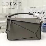 LOEWE 0160-03 專櫃時尚新款Puzzle Bag系列原版小牛皮手提單肩包