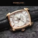 PARMIGIANI-011-3 商務男士土豪金配白底316精鋼錶殼全自動機械腕錶