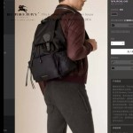 Burberry-0237-02 專櫃時尚新款原單材質牛皮配防水紡布男女式通用雙肩包