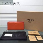 LOEWE L0117-05 潮流時尚新款進口原版牛皮多卡位拼色拉鏈款錢包