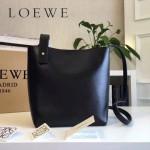 LOEWE 0238-02 潮流時尚新款Asymmetric bag系列進口原版細紋牛皮小號水桶包