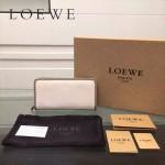 LOEWE L0117-02 潮流時尚新款進口原版牛皮多卡位拼色拉鏈款錢包