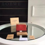 LOEWE L0179-01 專櫃時尚新款進口原版小牛皮男女式通用卡包零錢包