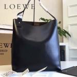 LOEWE 0250-02 潮流時尚新款Asymmetric bag系列進口原版細紋牛皮大號水桶包