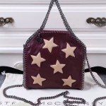 Stella McCartney-09-01 斯特拉潮流時尚爆款朴信惠同款小號星星鏈條包