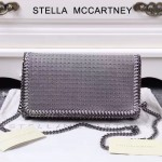 Stella McCartney-018 斯特拉潮流時尚鉚釘系列單肩斜跨鏈條包