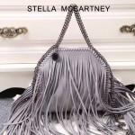 Stella McCartney-013-01 斯特拉秋冬新款潮流時尚高圓圓同款小號流蘇鏈條包