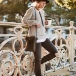 Manu Atelier-04-2 時尚新寵兒劉雯左岸瀟同款黑色牛皮大號單肩斜挎包