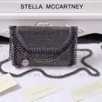 Stella McCartney-015-03 斯特拉潮流時尚水鉆系列限量版單肩鏈條包