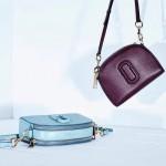 Marc Jacobs-01-6 歐陽娜娜袁姍姍同款shutter紫色牛皮單肩斜挎包相機包