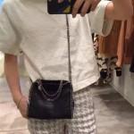 Stella McCartney-06-04 斯特拉潮流時尚爆款迷妳MINI號手提肩背鏈條包