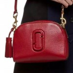Marc Jacobs-01-5 歐陽娜娜袁姍姍同款shutter紅色牛皮單肩斜挎包相機包