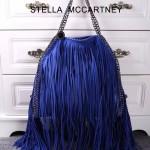 Stella McCartney-012-04 斯特拉秋冬新款潮流時尚高圓圓同款大號流蘇鏈條包
