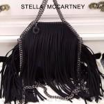 Stella McCartney-013-02 斯特拉秋冬新款潮流時尚高圓圓同款小號流蘇鏈條包