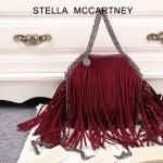 Stella McCartney-013-03 斯特拉秋冬新款潮流時尚高圓圓同款小號流蘇鏈條包