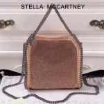 Stella McCartney-016 斯特拉潮流時尚水鉆系列限量版手提單肩鏈條包